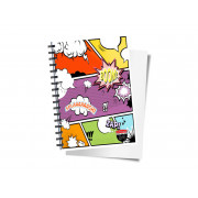 Custom Wire Bound Note Pad A5