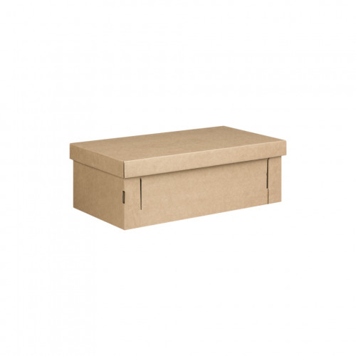 Brown Kraft Lid & Base Box