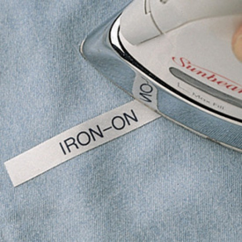 Tags  Iron On Label Black Text